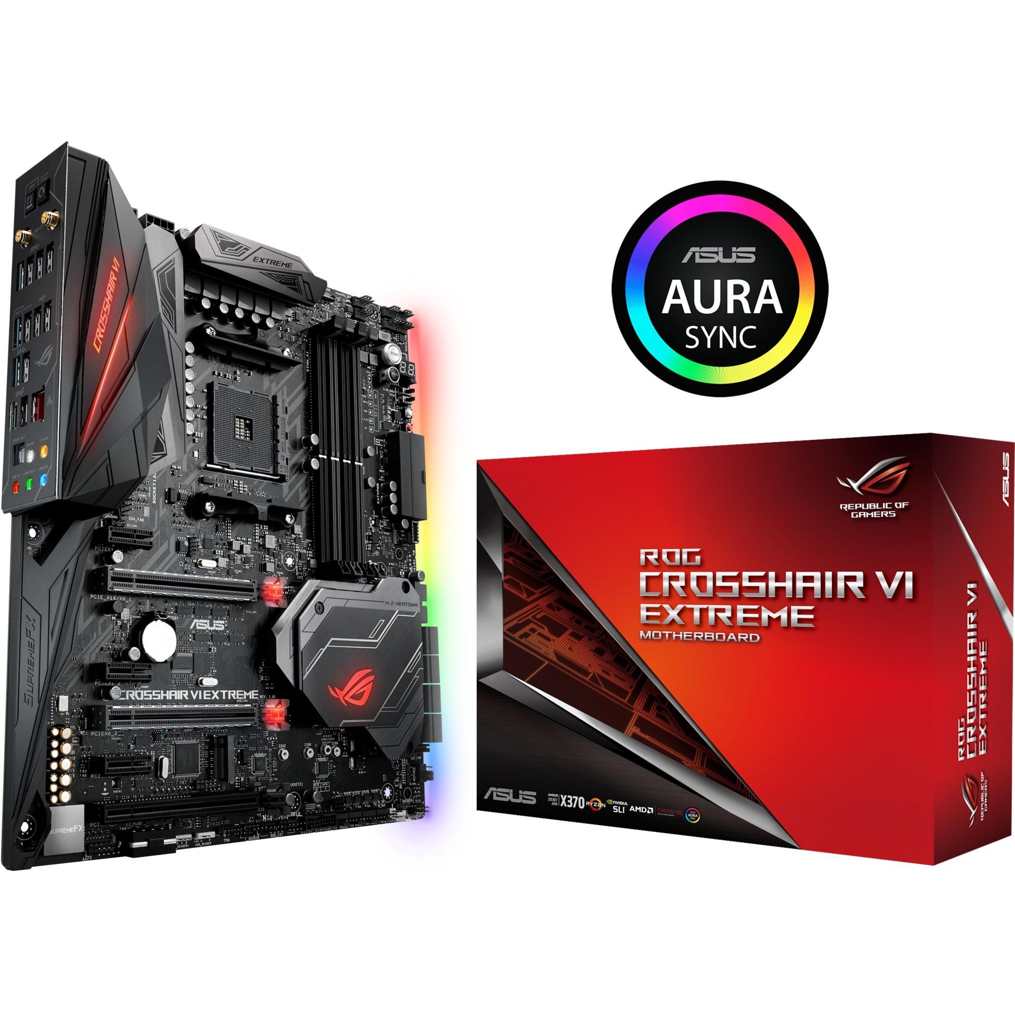 ROG CROSSHAIR VI EXTREME AMD X370 Socket AM4 ATX étendu carte mère