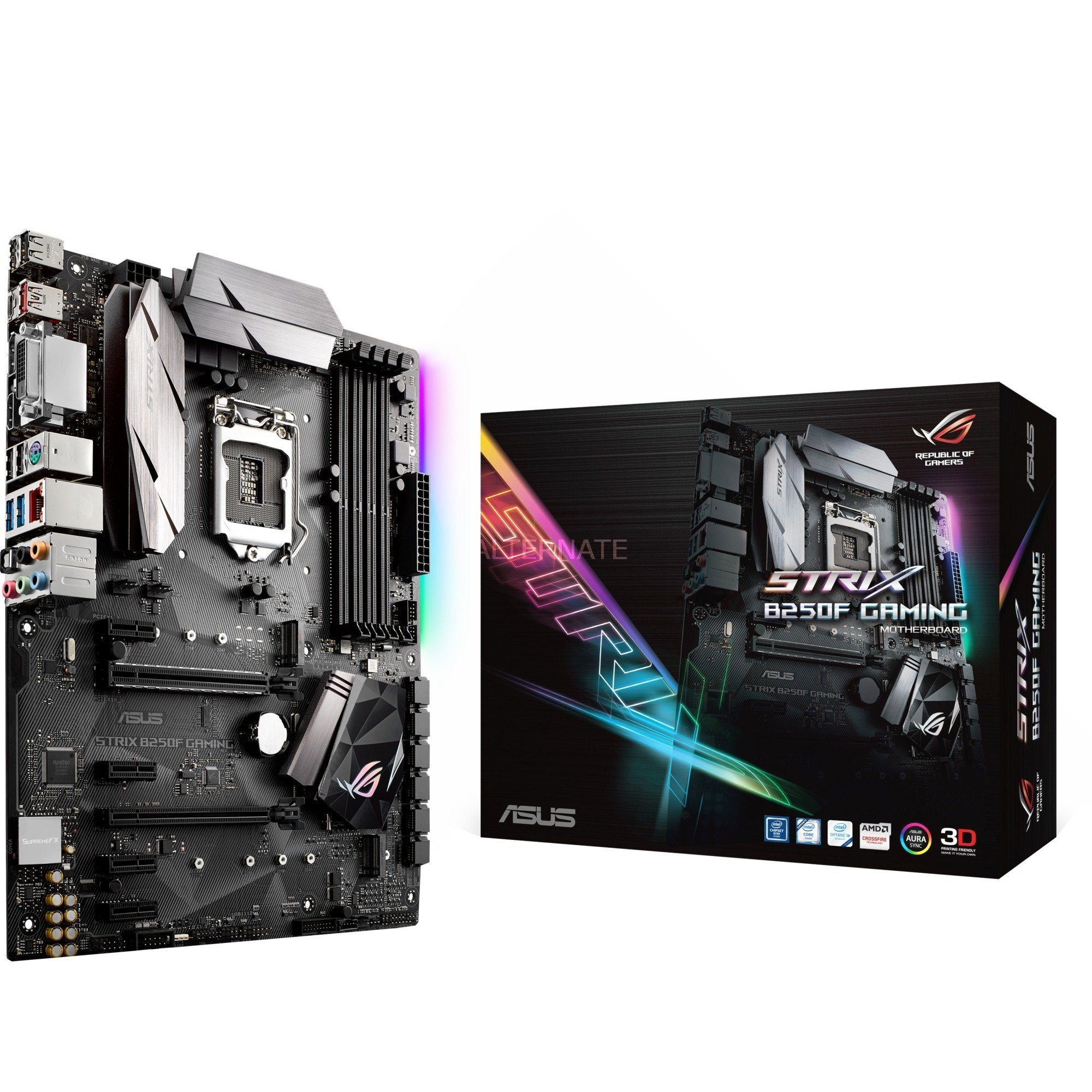 ROG STRIX B250F GAMING, Carte mère