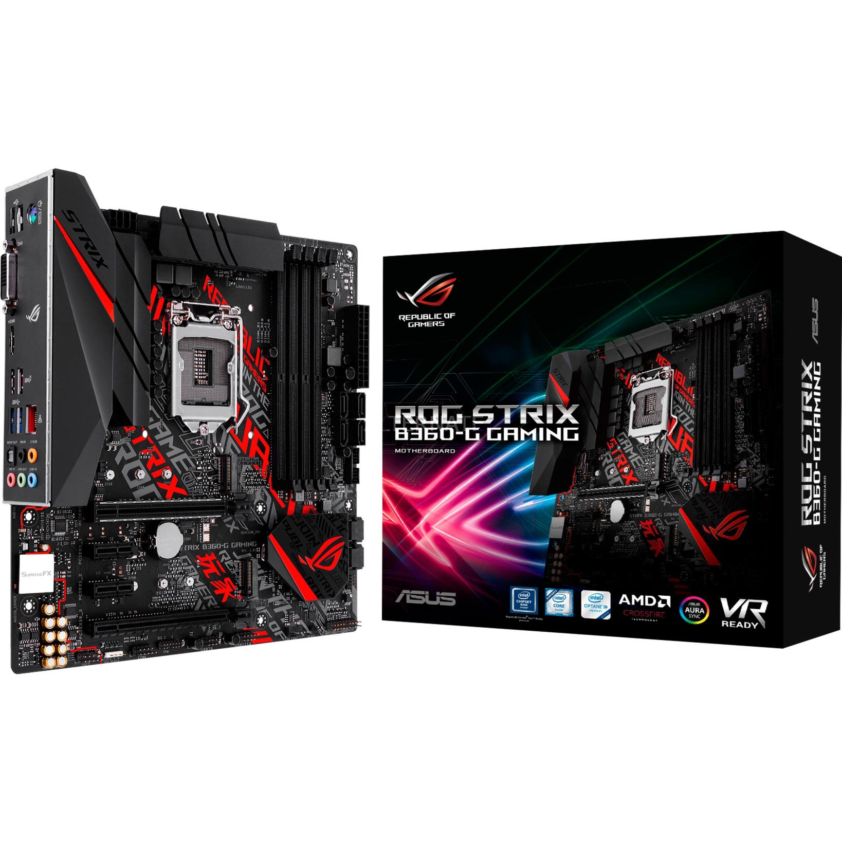 ROG STRIX B360-G GAMING, Carte mère