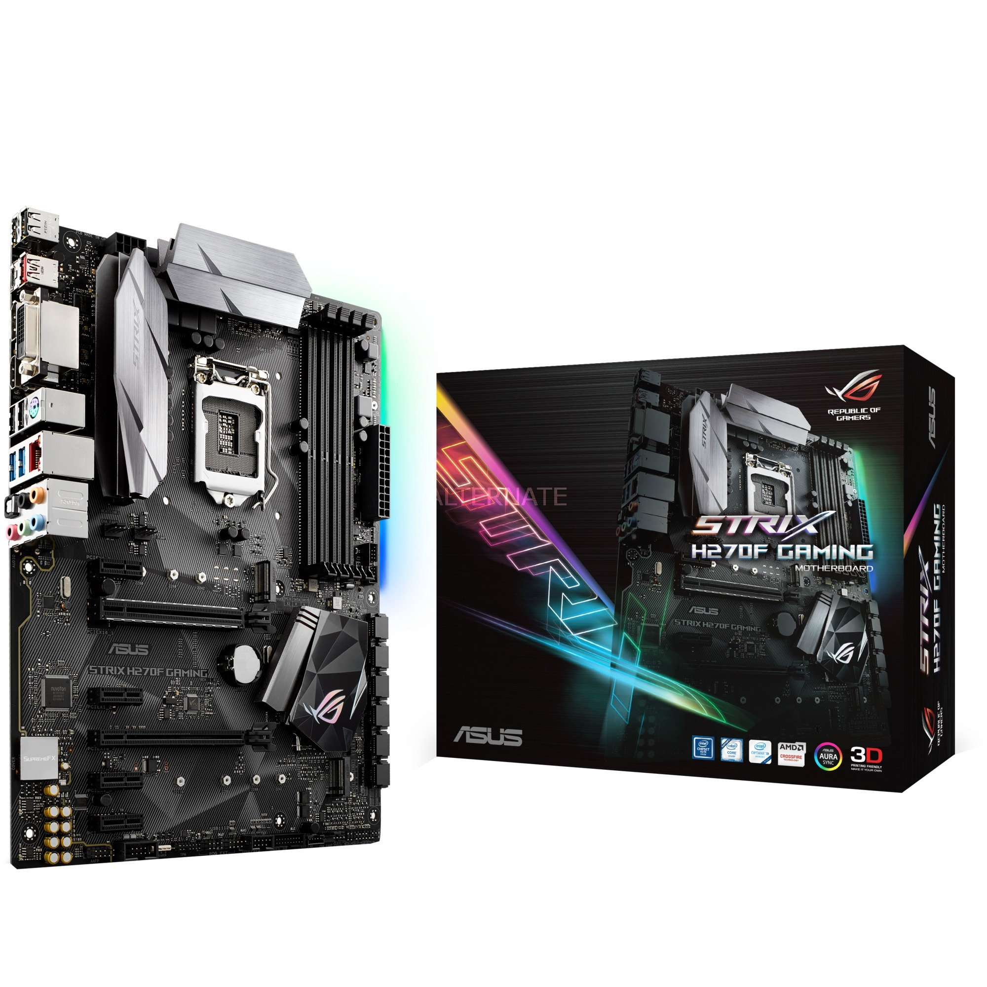 ROG STRIX H270F GAMING, Carte mère