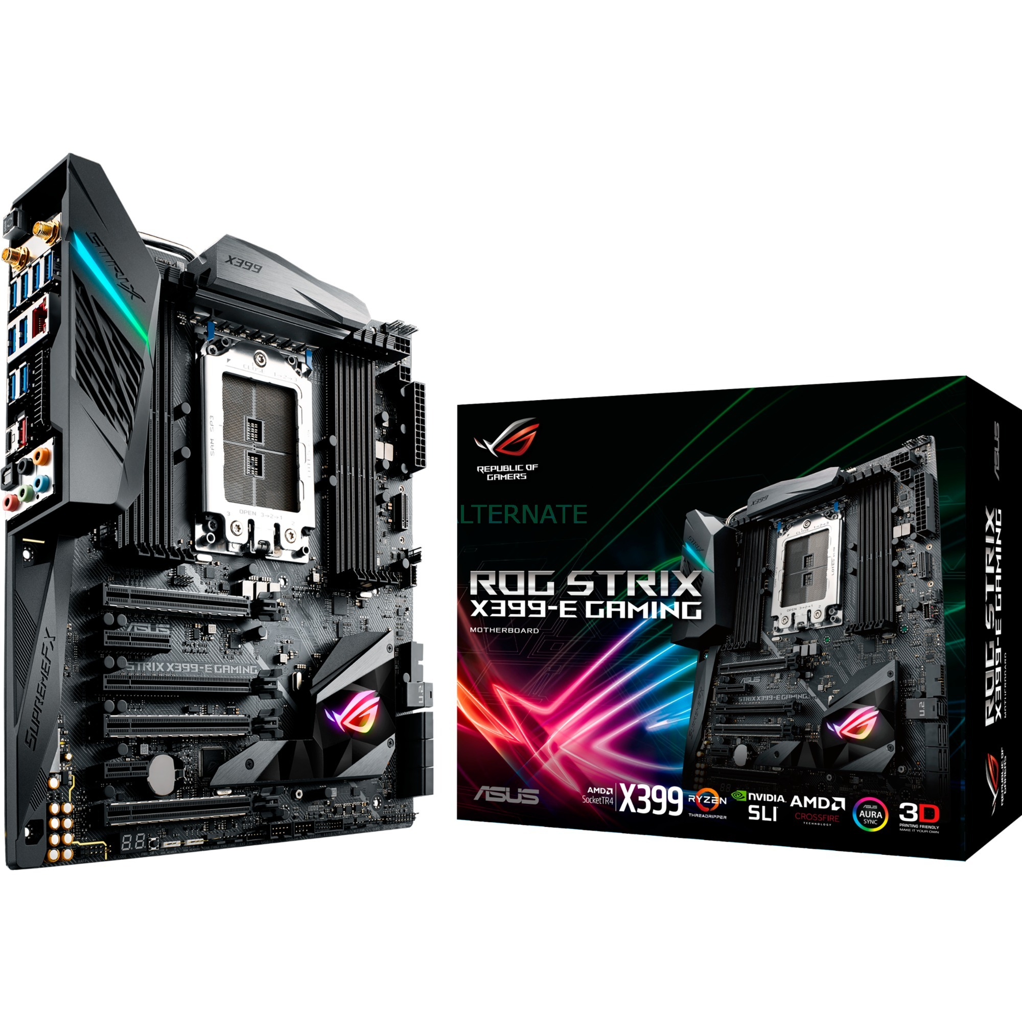 ROG STRIX X399-E GAMING AMD X399 Socket TR4 ATX carte mère