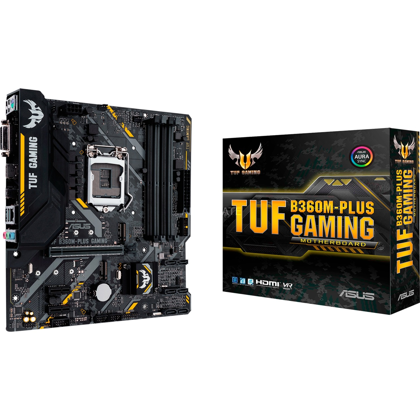 TUF B360M-PLUS GAMING, Carte mère