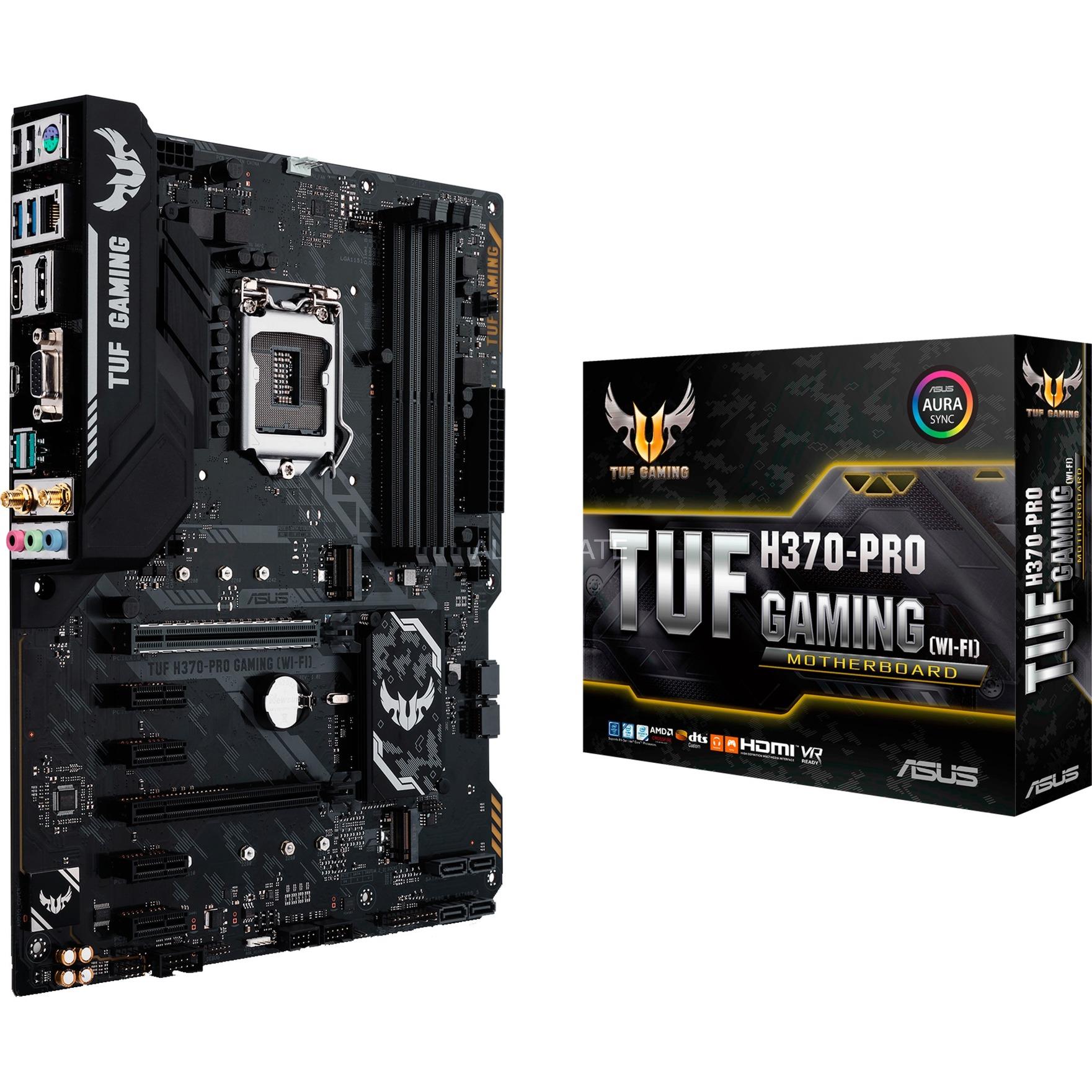 TUF H370-PRO GAMING (WiFi), Carte mère