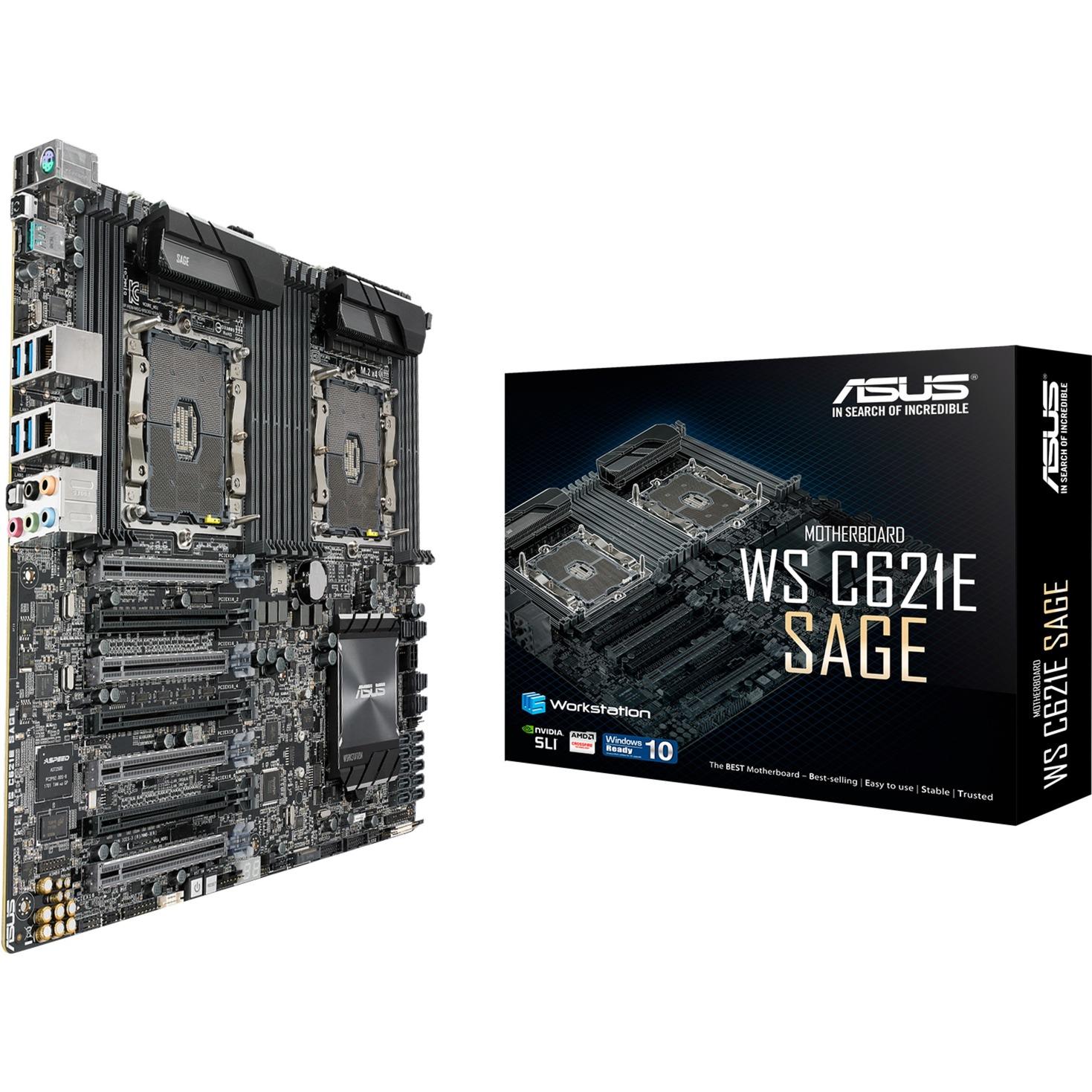 WS C621E SAGE Intel C621 Prise P EEB carte mère