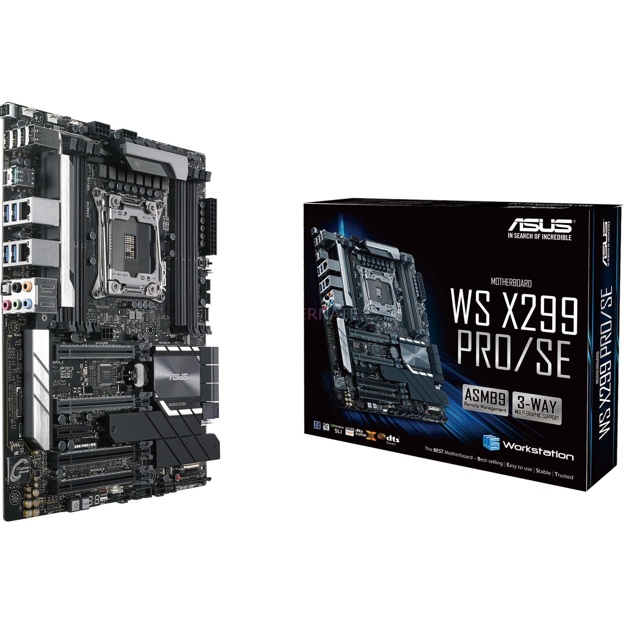 WS X299 PRO/SE Intel X299 LGA 2066 ATX carte mère
