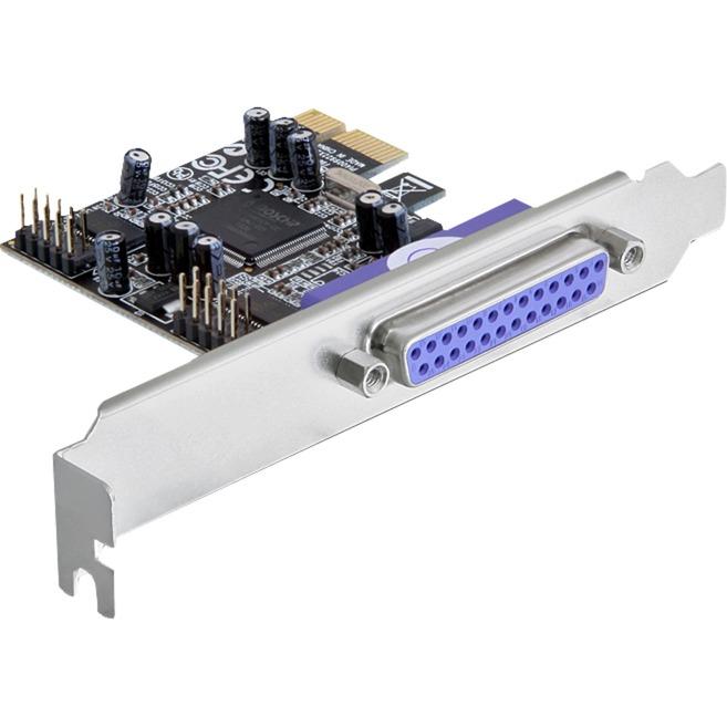 PCI Express card 2 x serial, 1x parallel carte et adaptateur d'interfaces, Carte d'interface