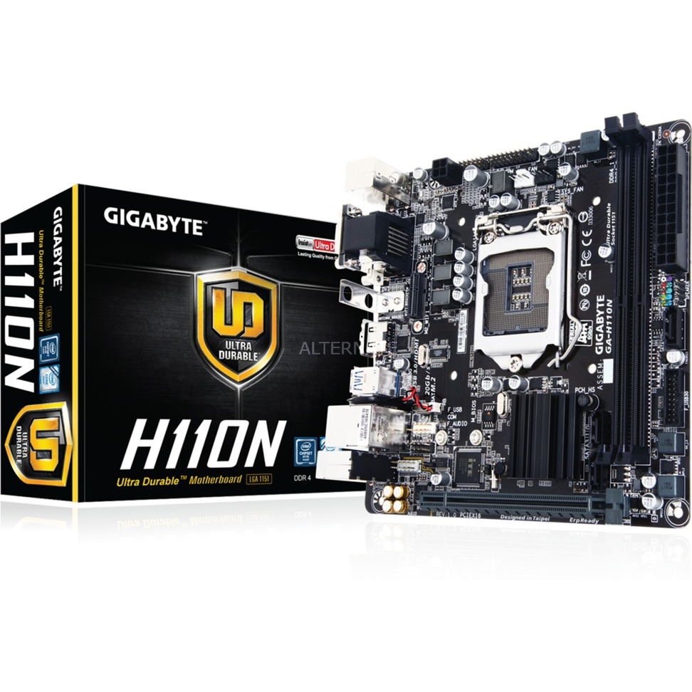 GA-H110N Intel H110 Mini-ITX carte mère