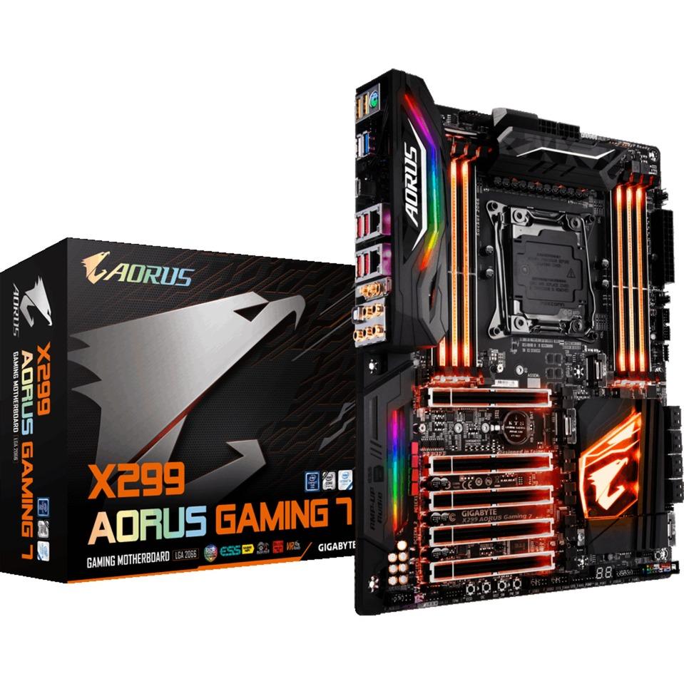 X299 AORUS Gaming 7, Carte mère