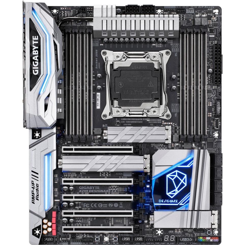 X299 DESIGNARE EX Intel X299 LGA 2066 ATX carte mère
