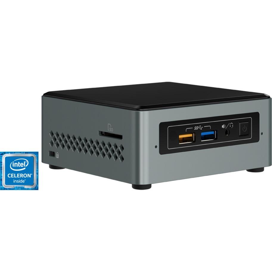 NUC NUC6CAYSAJ 1.50GHz J3455 Noir, Gris Mini PC
