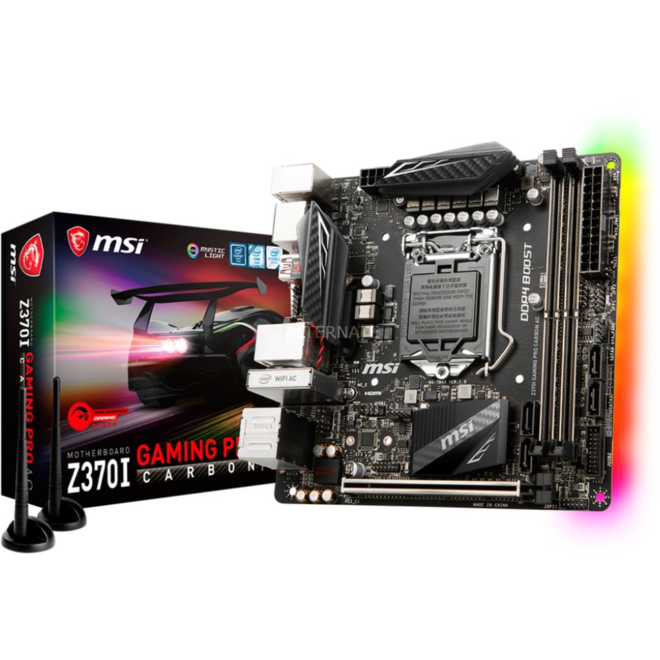 Z370I GAMING PRO CARBON AC, Carte mère