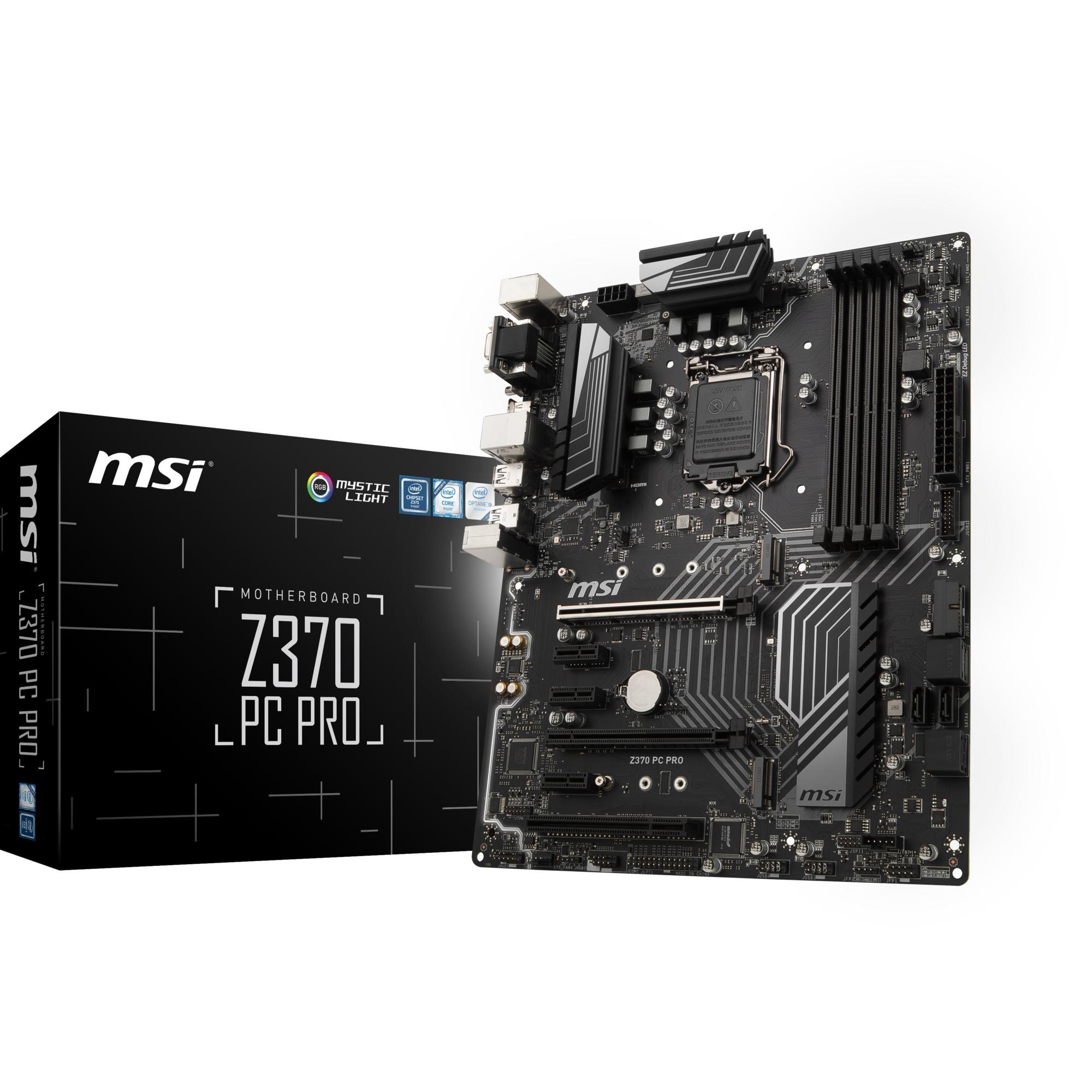 Z370 PC PRO, Carte mère