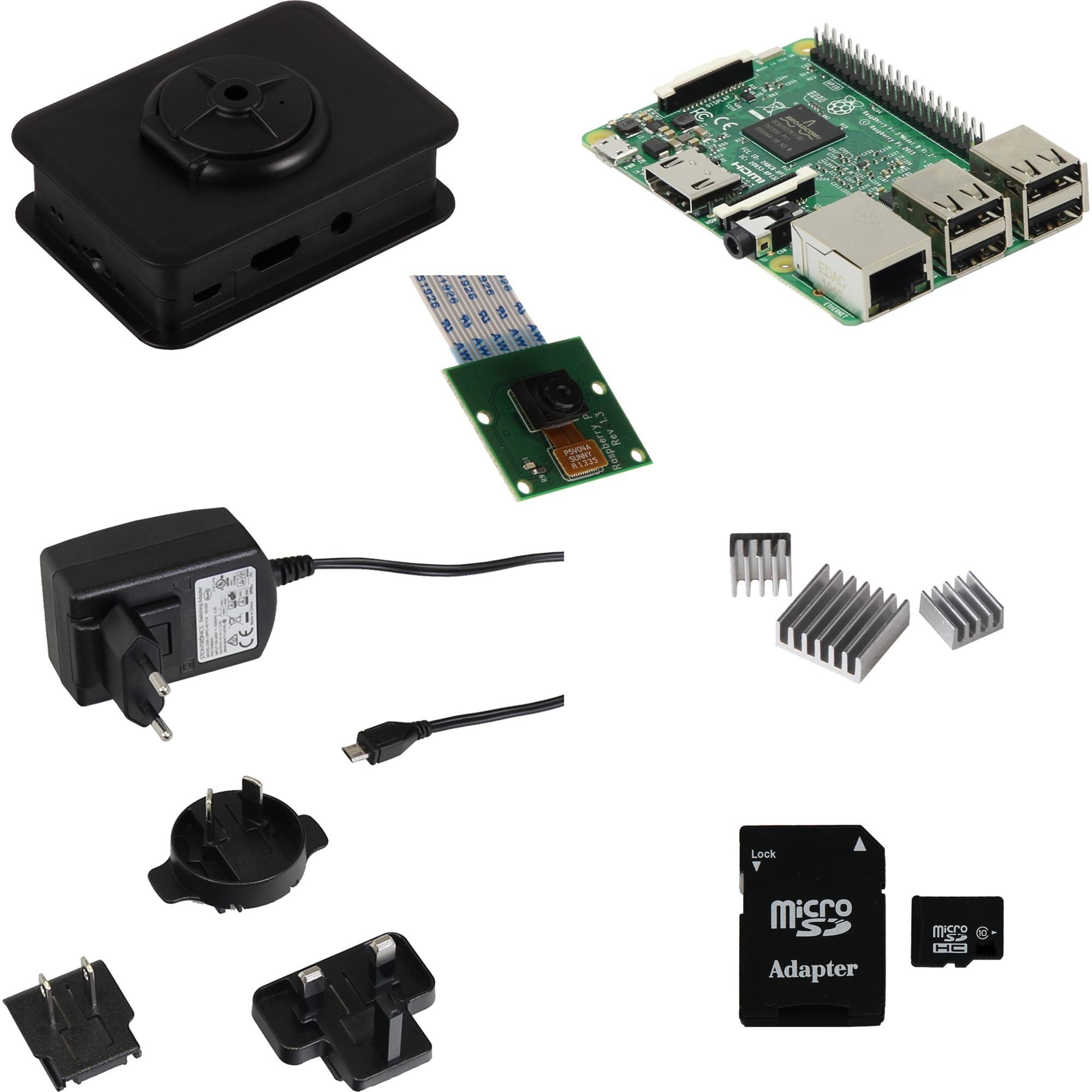 Raspberry Pi 3 Kamera Starter Kit Set5