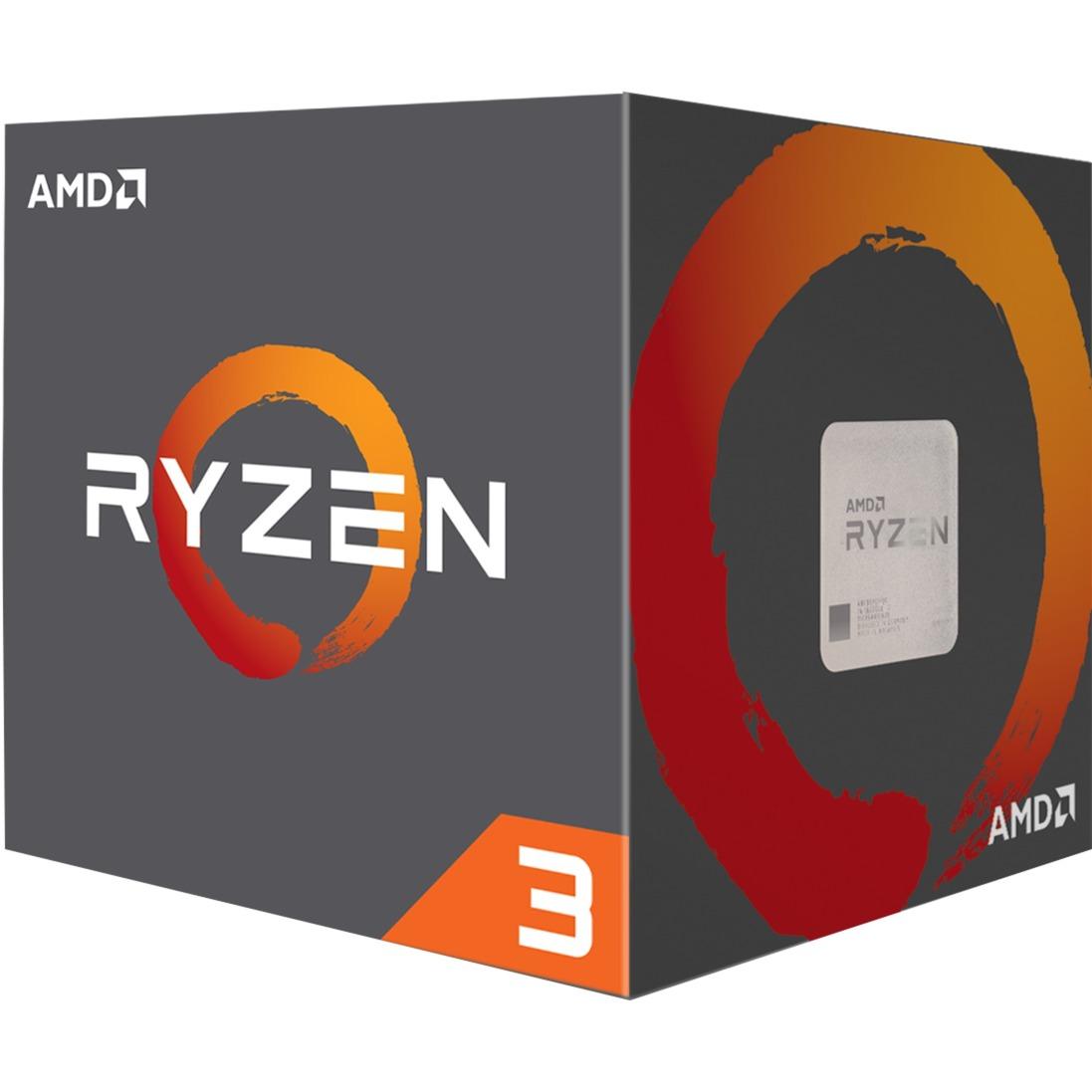 Ryzen 3 1200, 3,1 GHz (3,4 GHz Turbo Boost), Processeur