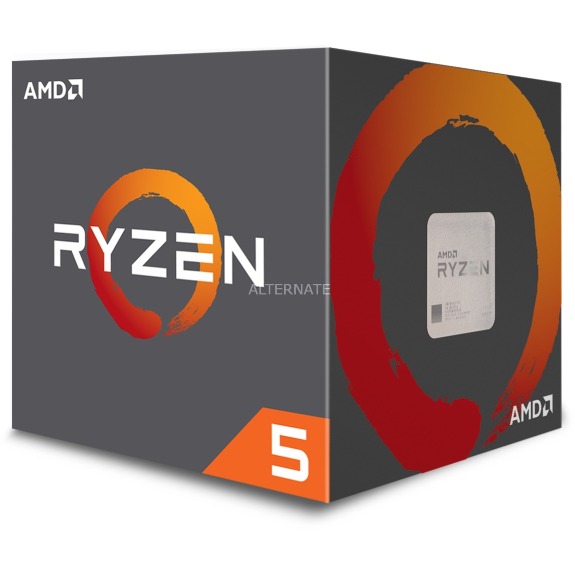 Ryzen 5 1500X 3,6 GHz socket AM4 processeur