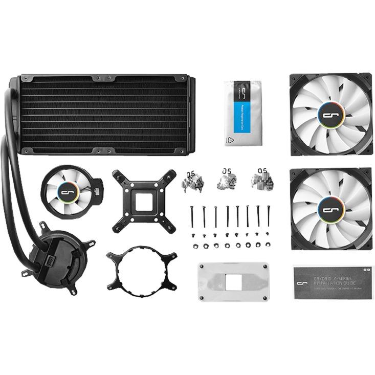 A40 ULTIMATE Processeur eau et gaz réfrigérants, Refroidissement par eau