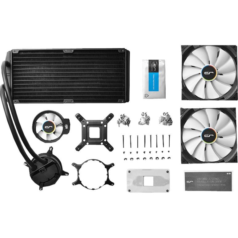 A80 Processeur eau et gaz réfrigérants, Refroidissement par eau