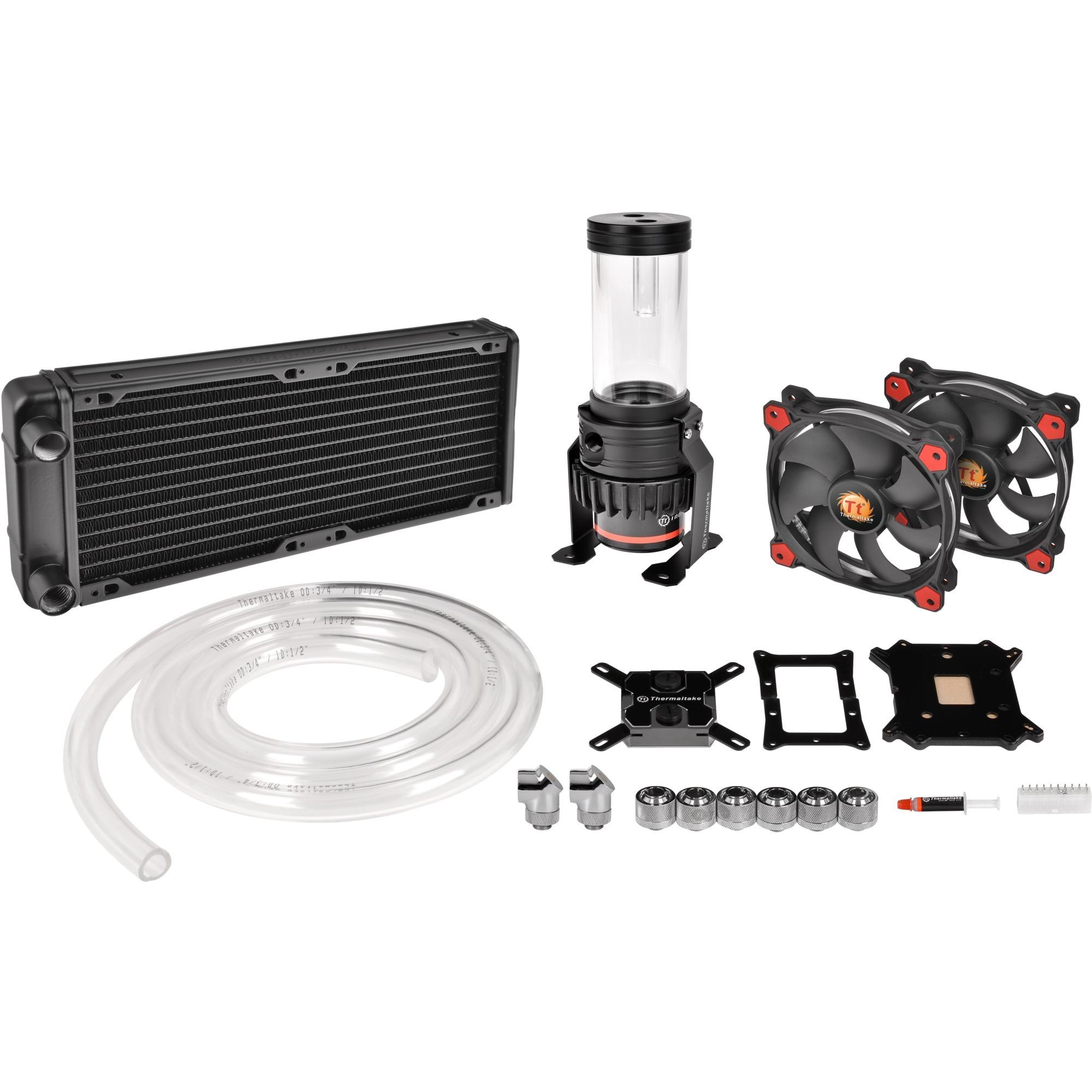 Pacific Gaming R240 Processeur eau et gaz réfrigérants, Refroidissement par eau