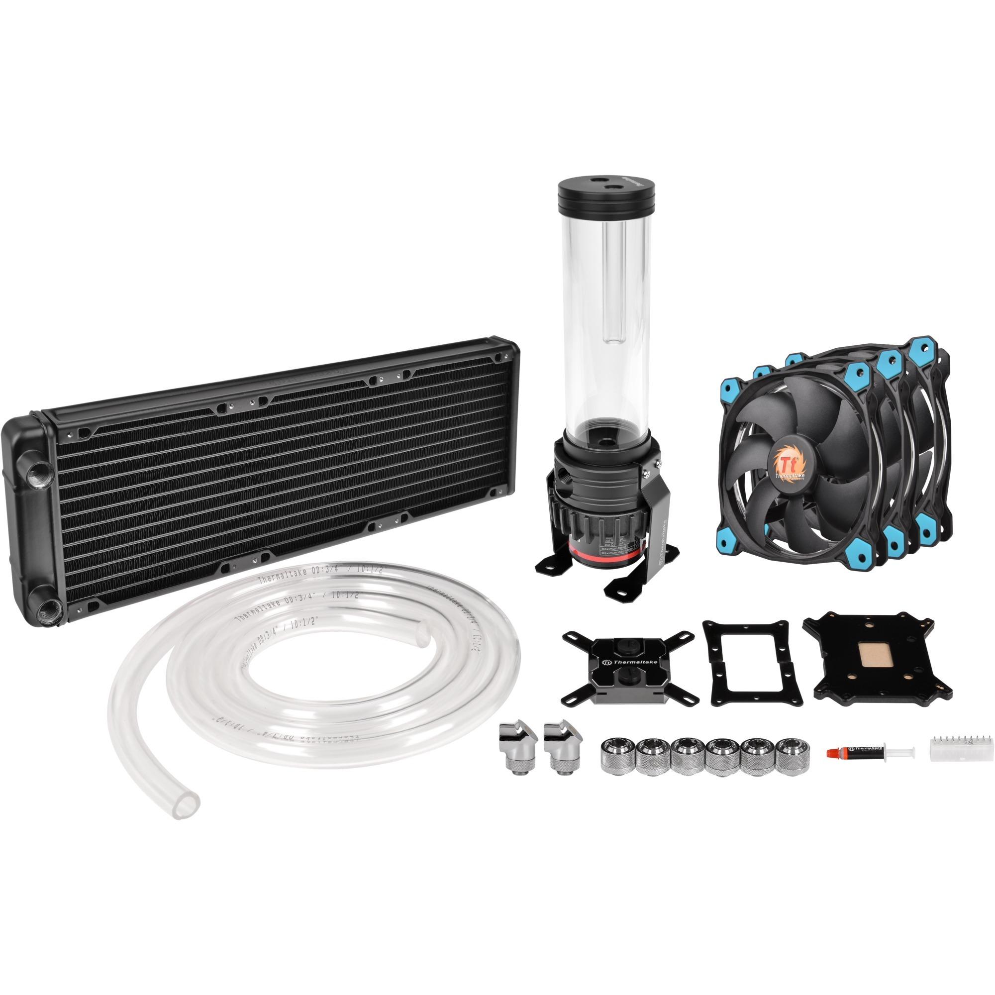 Pacific Gaming R360 Processeur eau et gaz réfrigérants, Refroidissement par eau