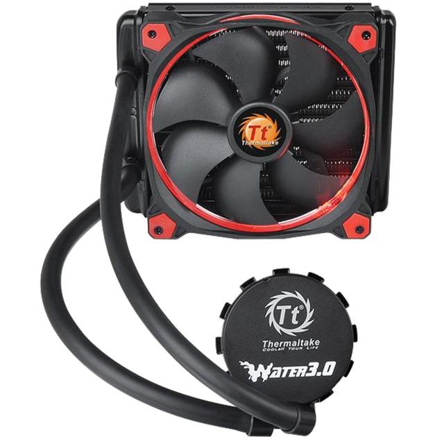 Riing 14 LED Red Boitier PC Ventilateur, Refroidissement par eau