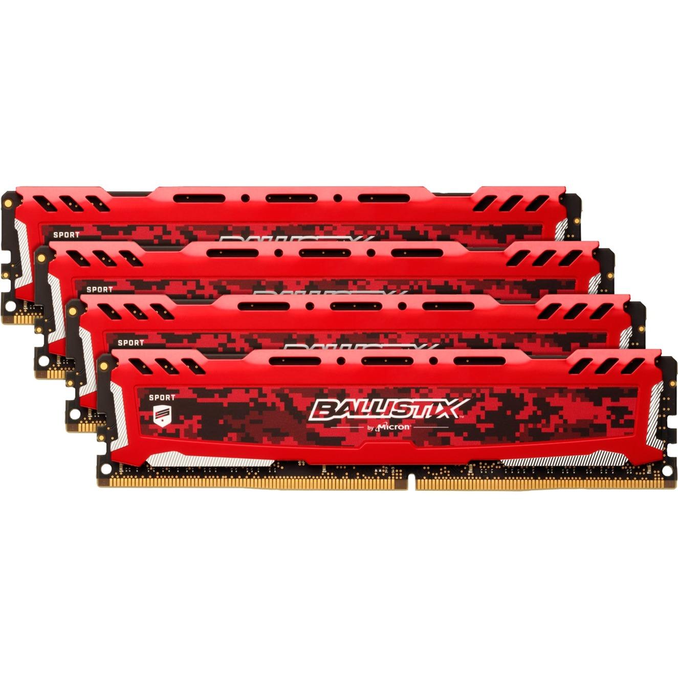 BLS4C16G4D26BFSE 64Go DDR4 2666MHz module de mémoire