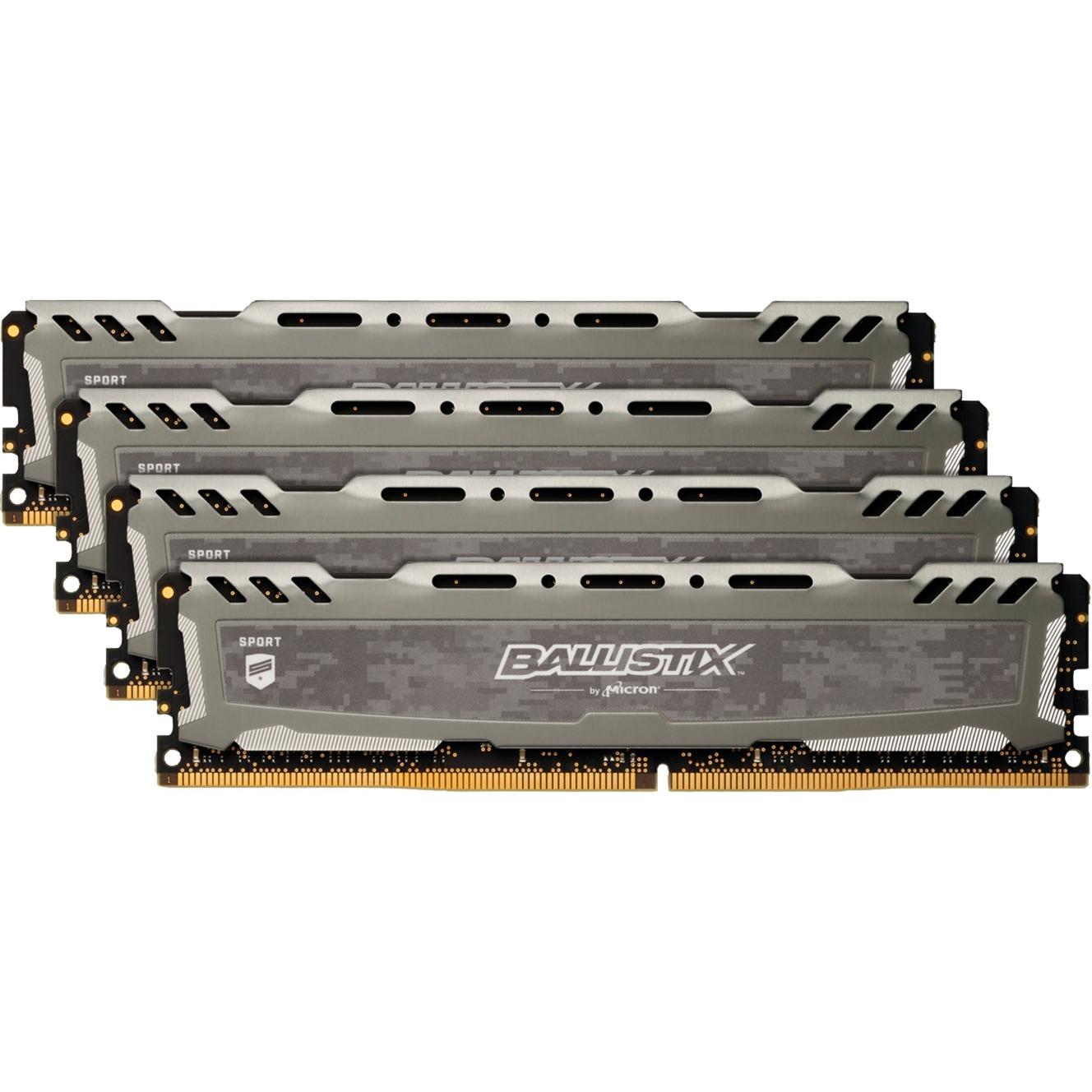 Ballistix Sport LT 64GB DDR4-2666 64Go DDR4 2666MHz module de mémoire
