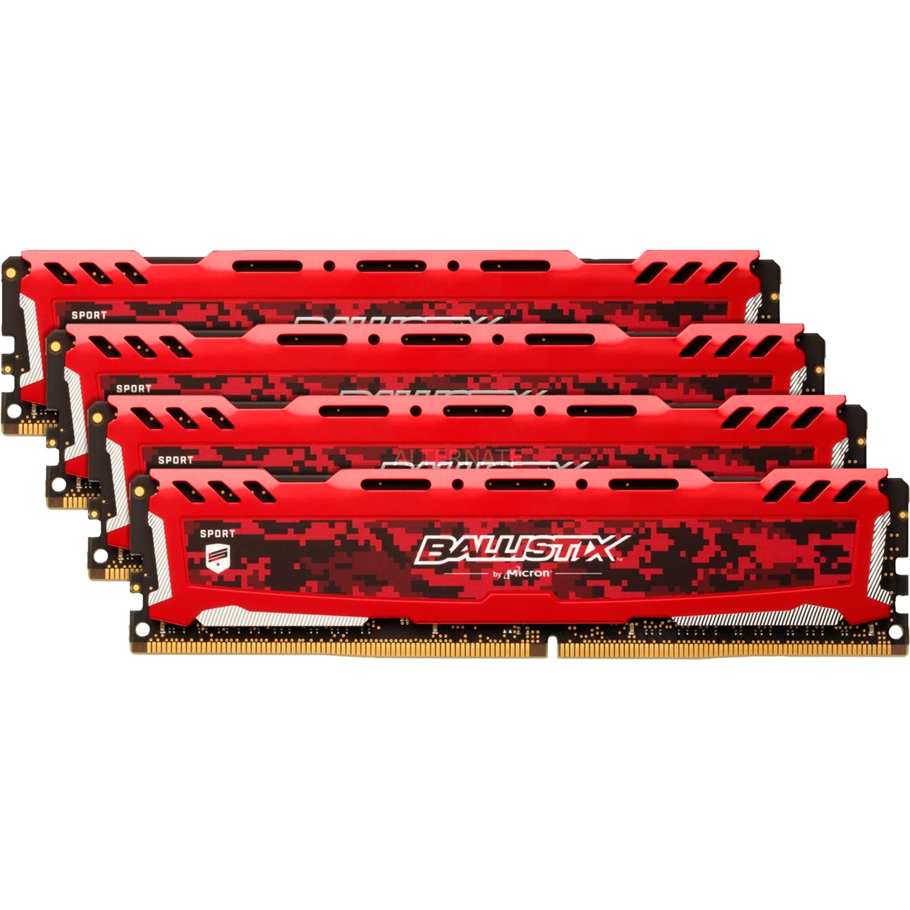 Ballistix Sport LT Red 16GB DDR4-2666 16Go DDR4 2666MHz module de mémoire