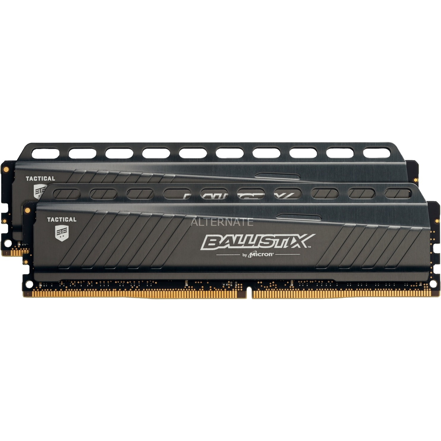 Ballistix Tactical 8 Go (2 x 4 Go) DDR4 3000 MHz CL16, Mémoire