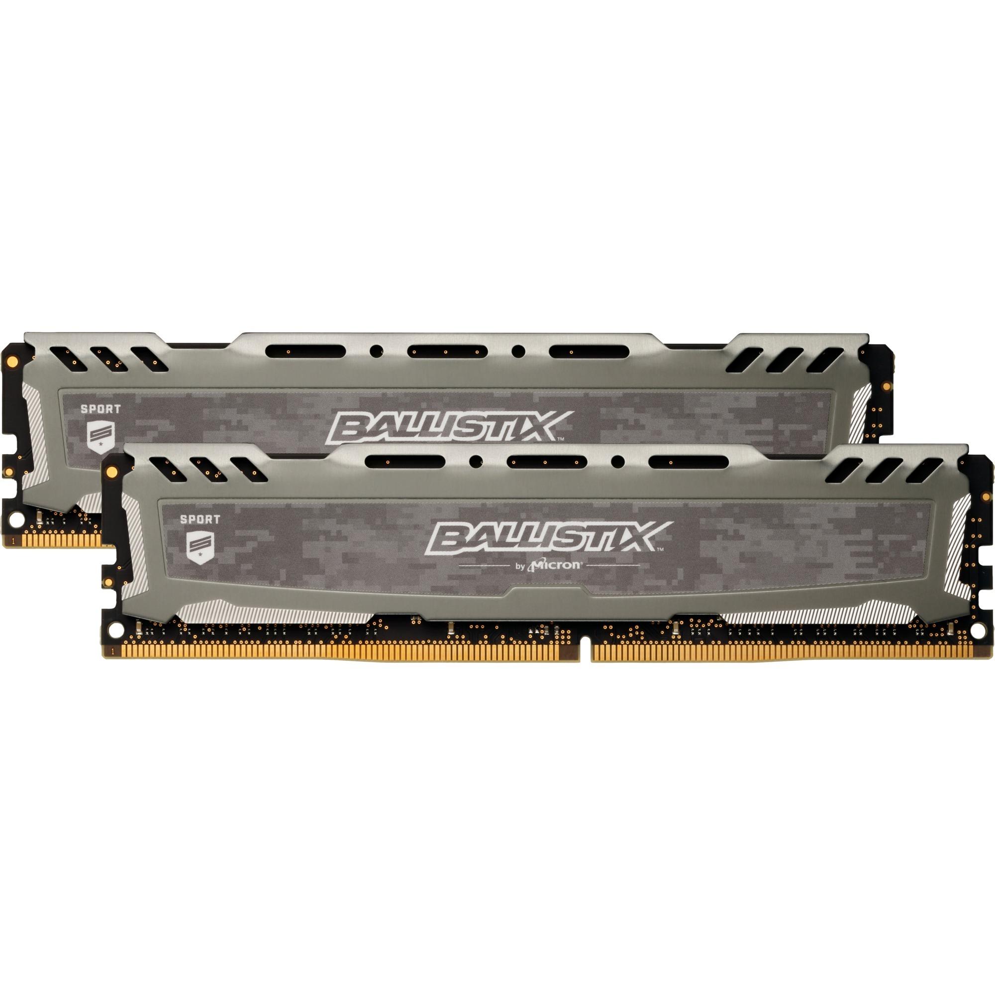 Sport LT 8 Go (2 x 4 Go) DDR4 2400 MHz CL16, Mémoire