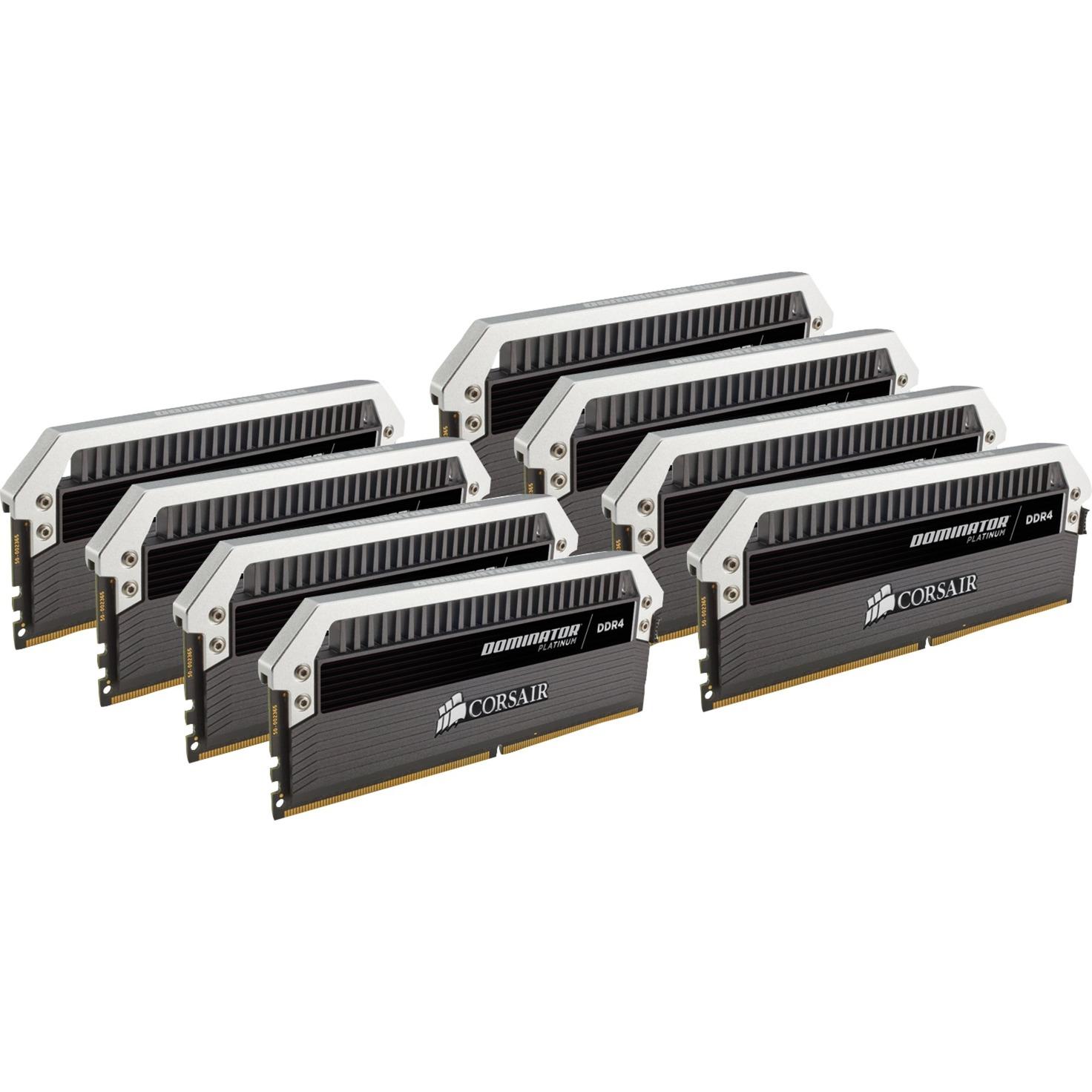 128 Go DDR4-2666 Octo-Kit, Mémoire