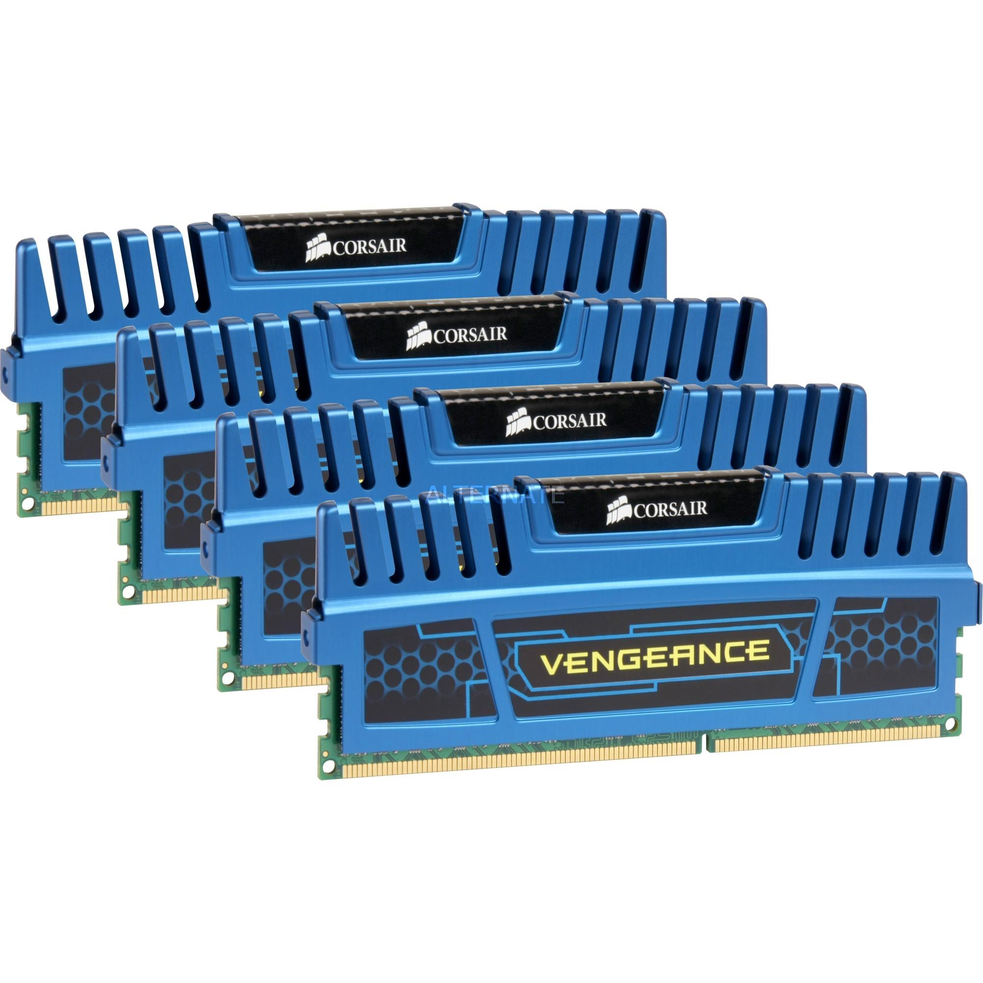 16 Go DDR3-1600 Quad-Kit, Mémoire