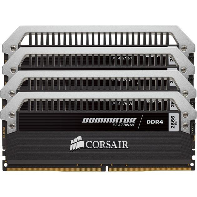 Dominator Platinum 16 Go (2x 8 Go) DDR4 2666 MHz CL15, Mémoire