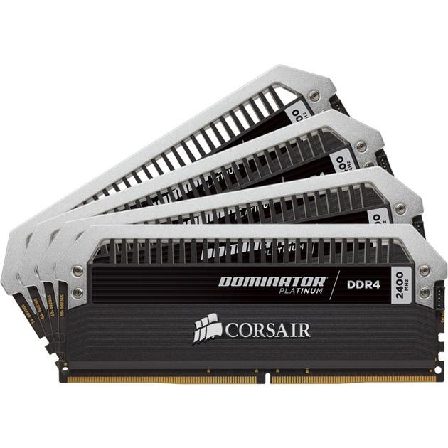 Dominator Platinum 32 Go (4x 8 Go) DDR4 2400 MHz CL14, Mémoire