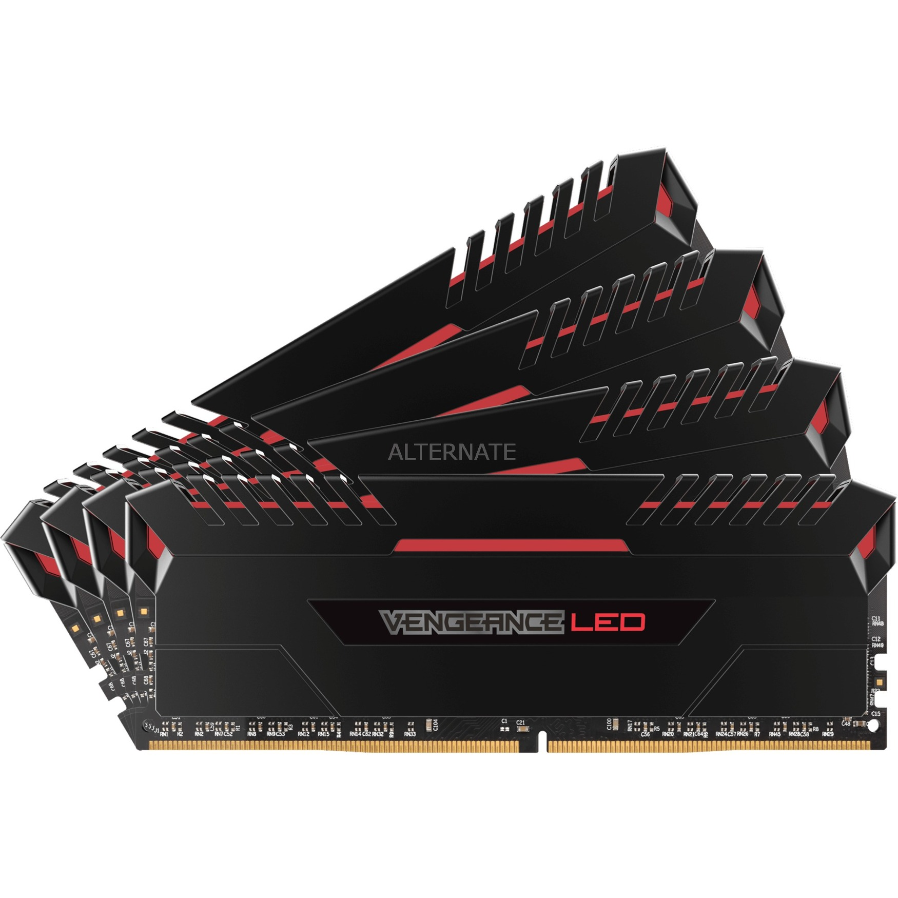 LED 4x8GB DDR4-3000