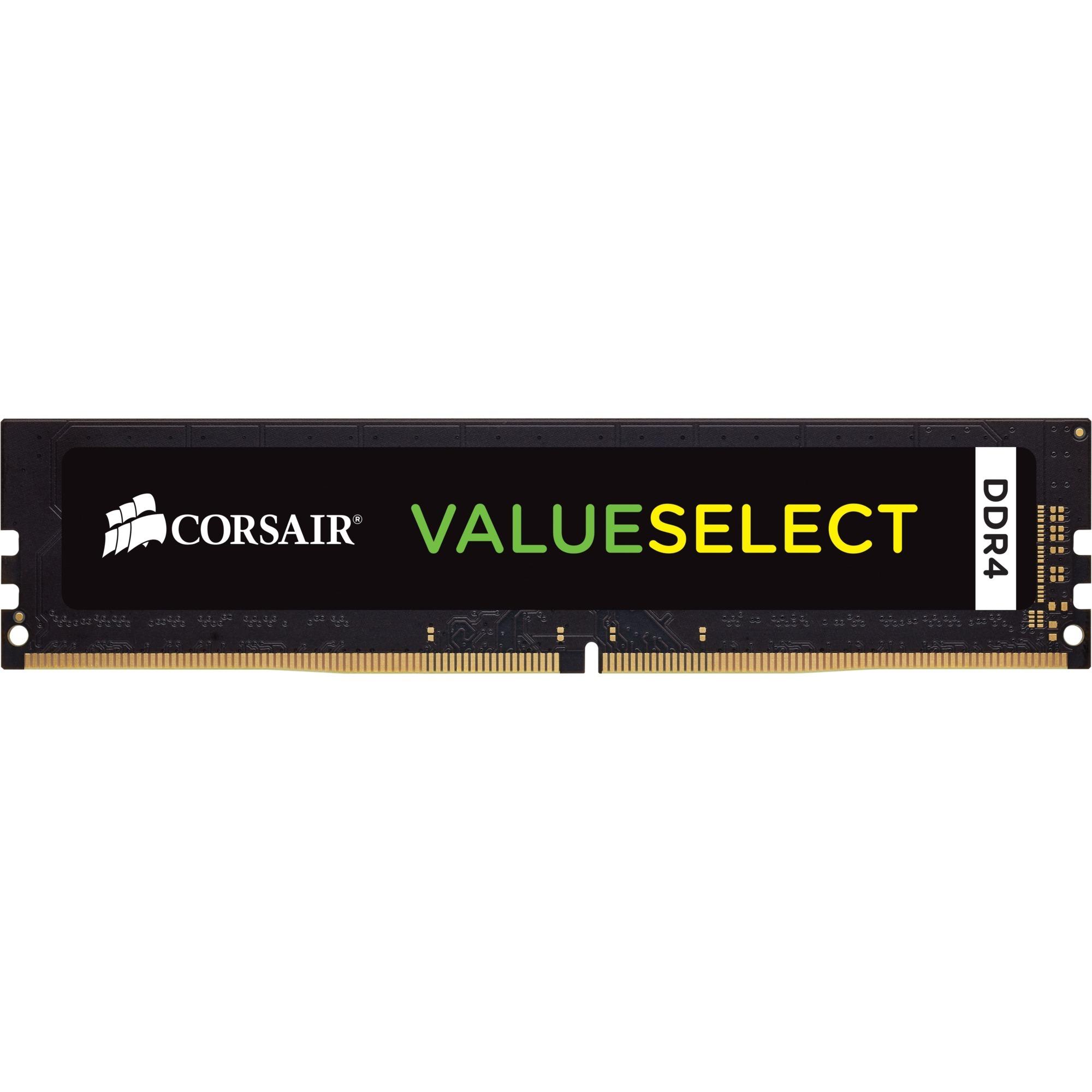 ValueSelect 4GB, DDR4, 2400MHz 4Go DDR4 2400MHz module de mémoire