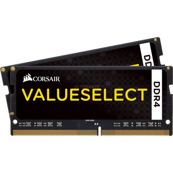 Value Select SO-DIMM DDR4 32 Go (2 x 16 Go) 2133 MHz CL15, Mémoire
