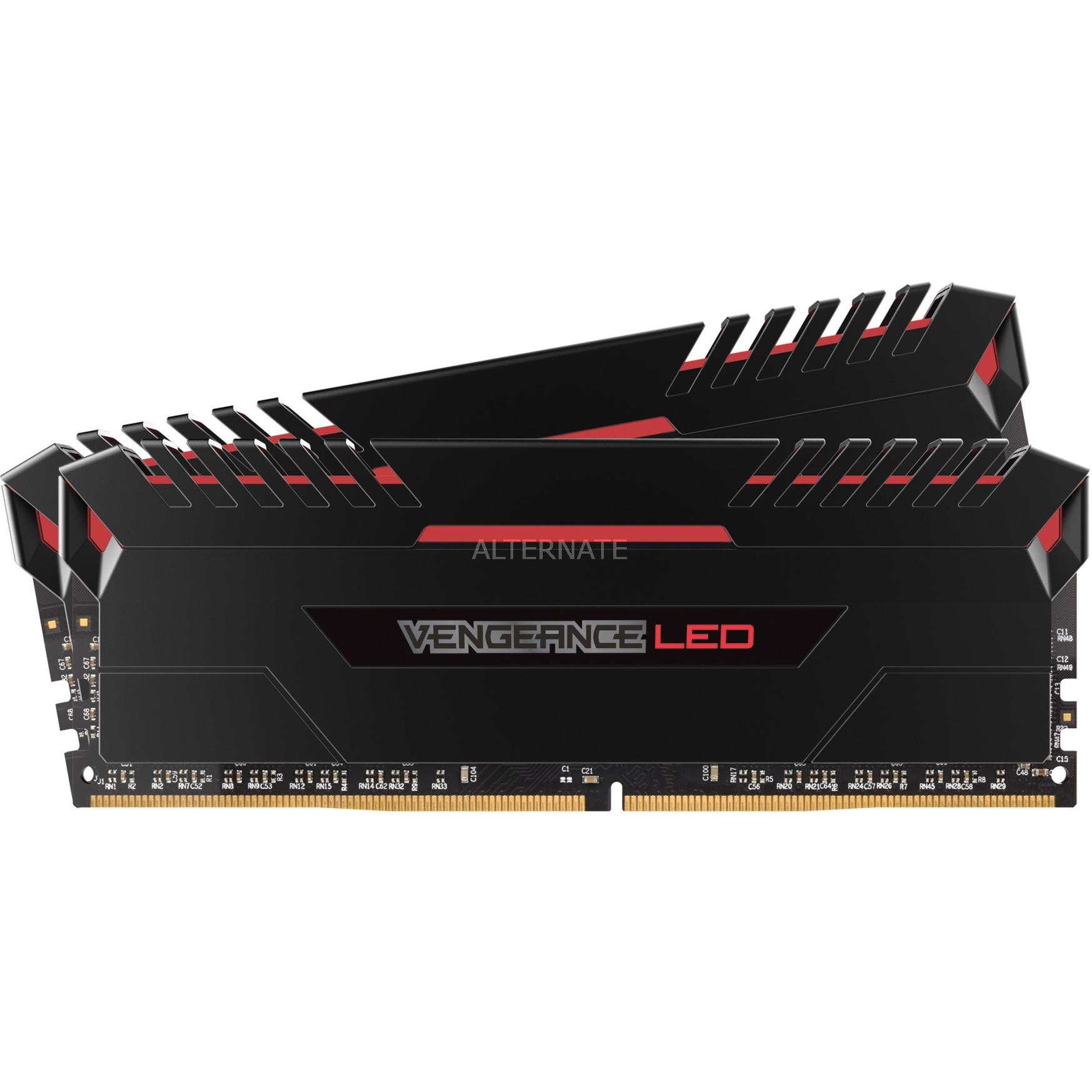 Vengeance LED 16 GB, DDR4, 3200 MHz 16Go DDR4 3200MHz module de mémoire