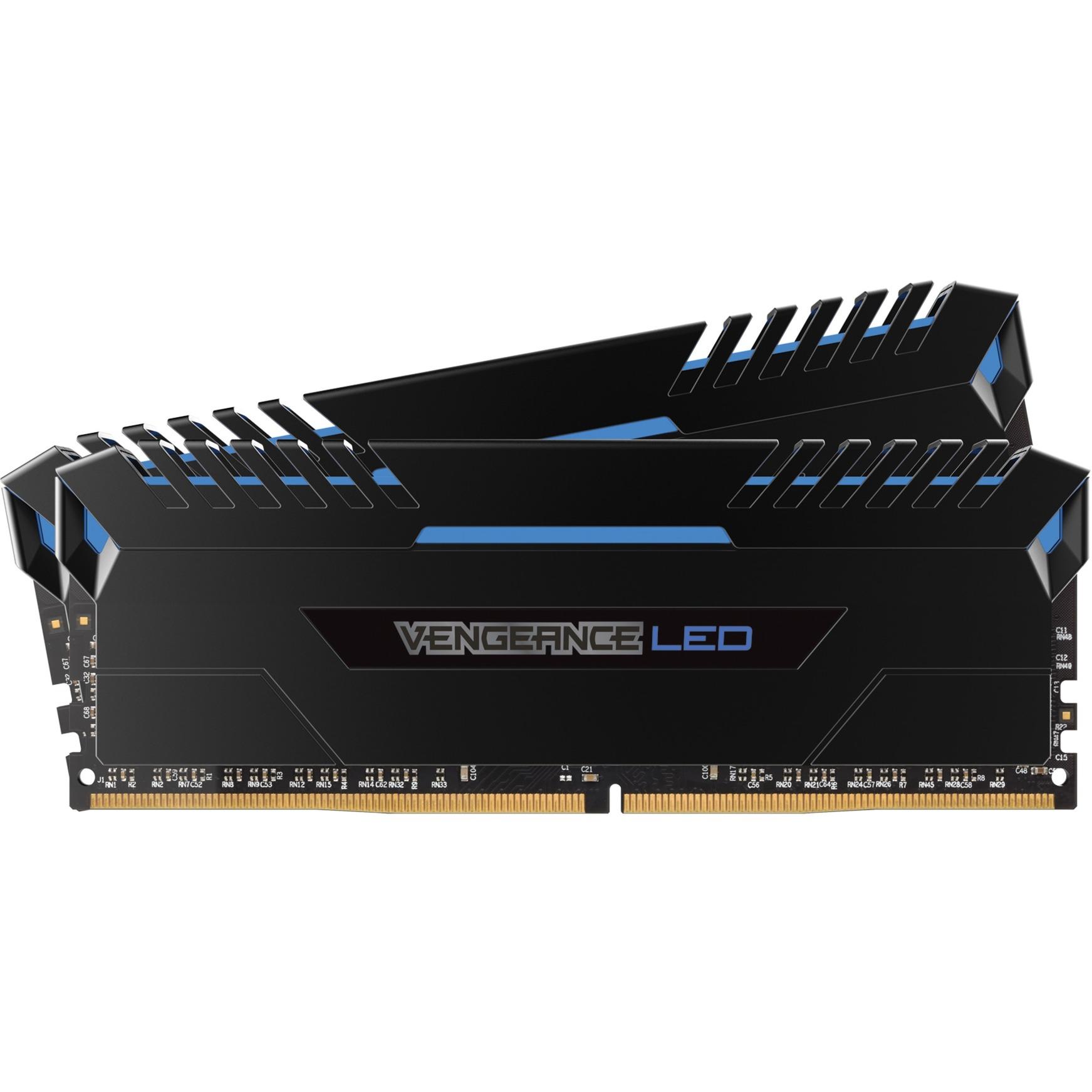 Vengeance LED, 16 GB, 2666 MHz, DDR4 16Go DDR4 2666MHz module de mémoire