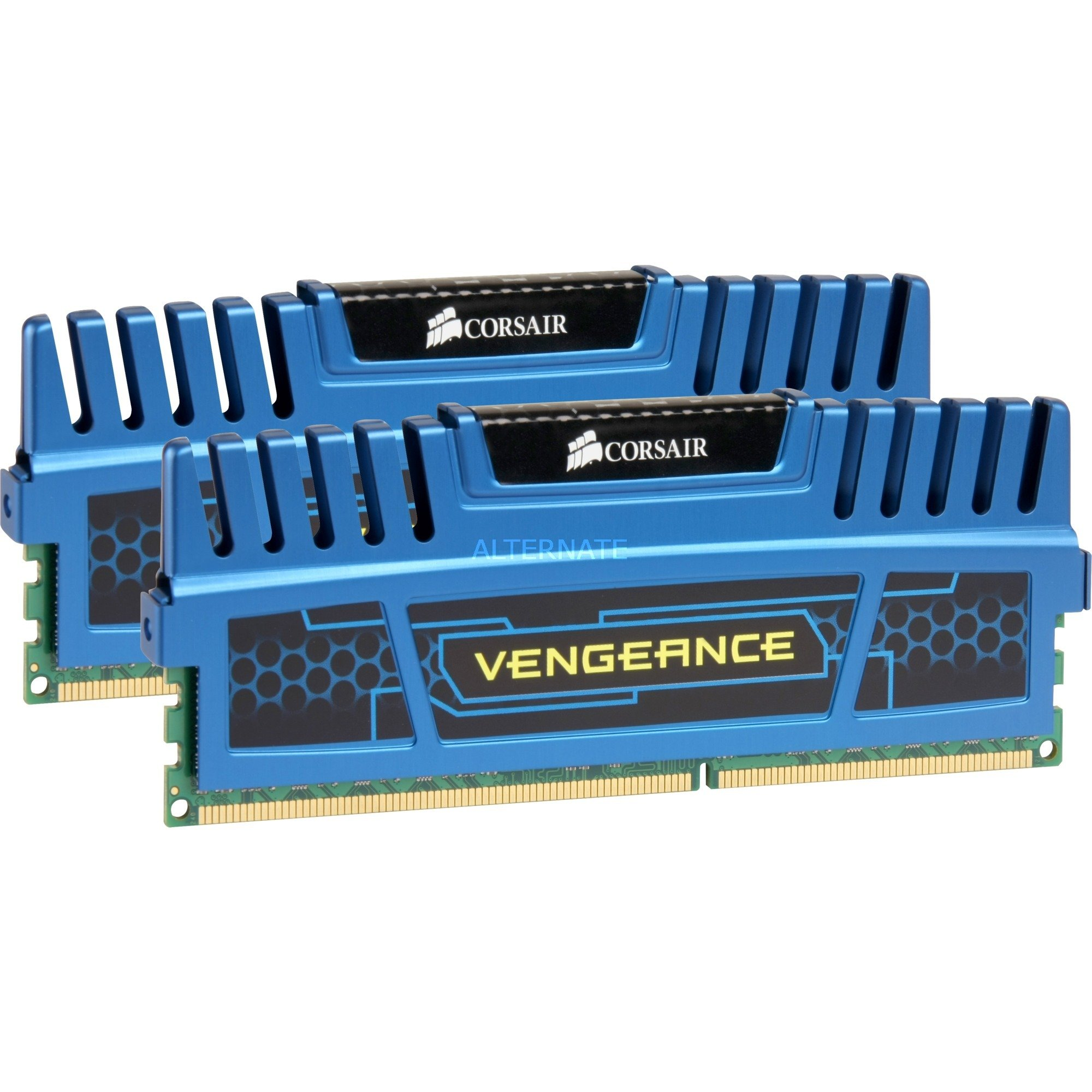 Vengeance Low Profile Series 16 Go (2x 8 Go) DDR3 1600 MHz CL10 Bleu, Mémoire