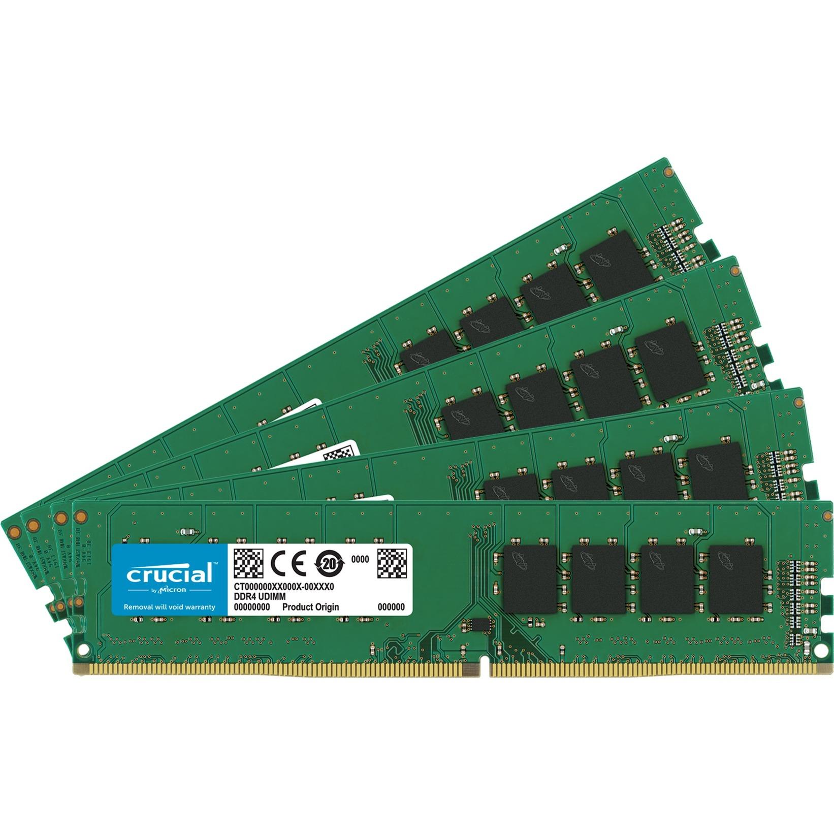 32 Go DDR4-2400 Quad-Kit, Mémoire