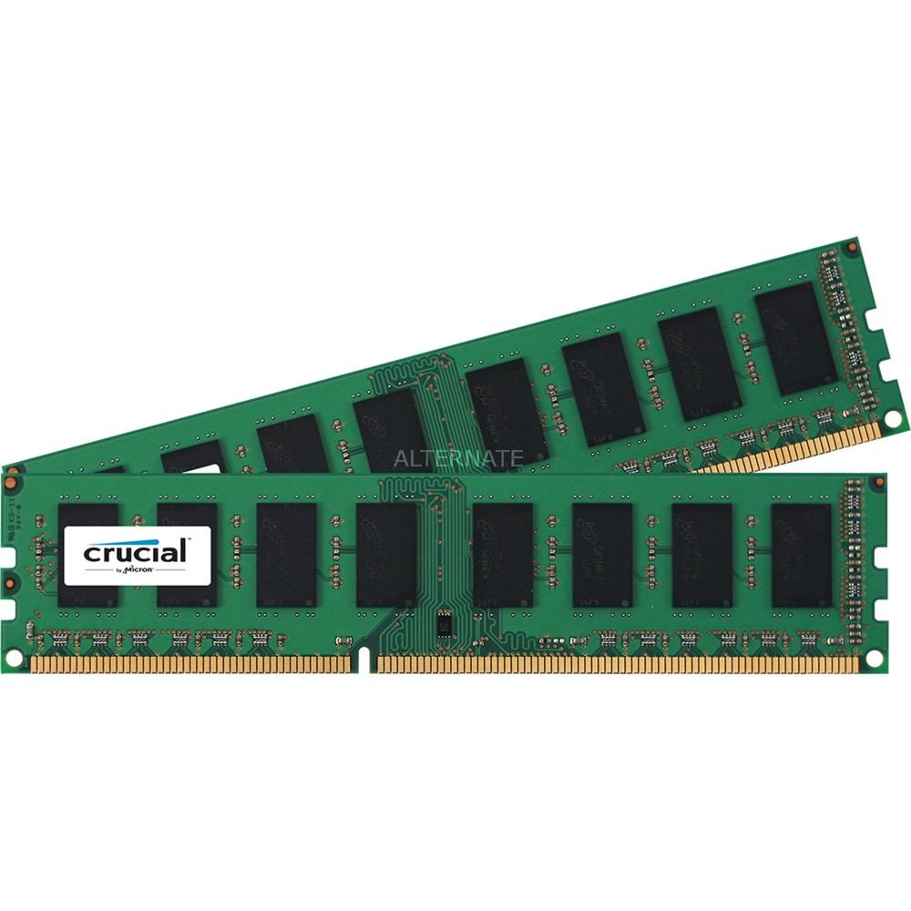 CT2K102464BD160B 16Go DDR3L 1600MHz module de mémoire