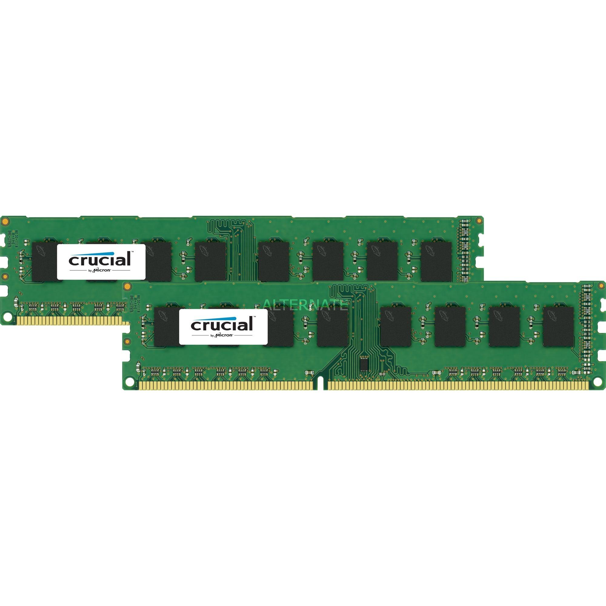 CT2K51264BD160BJ 8Go DDR3 1600MHz module de mémoire