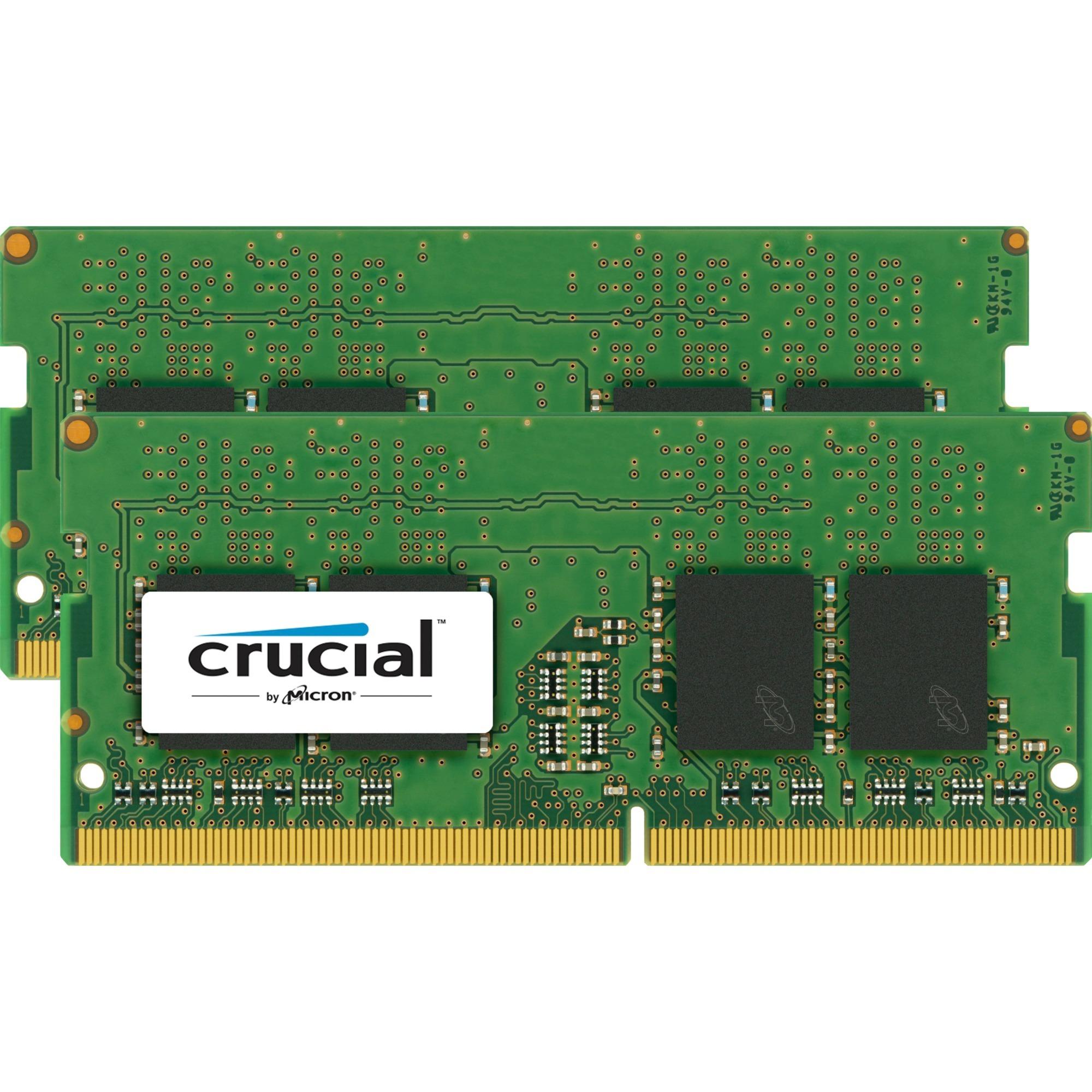 CT2K8G4SFS8266 16Go DDR4 2666MHz module de mémoire