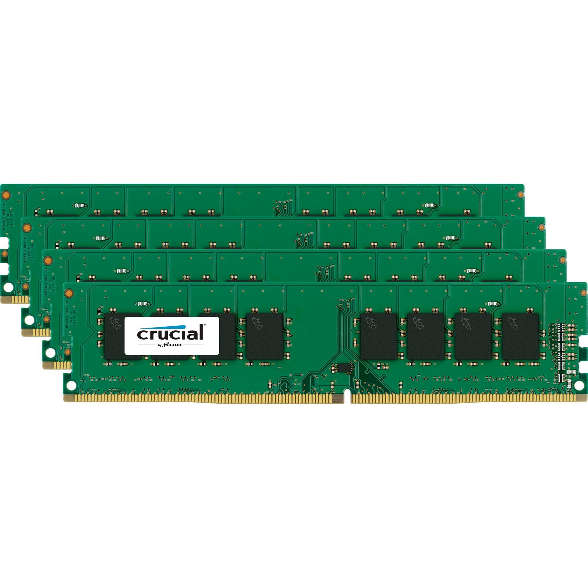 CT4K16G4DFD8266 64Go DDR4 2666MHz module de mémoire
