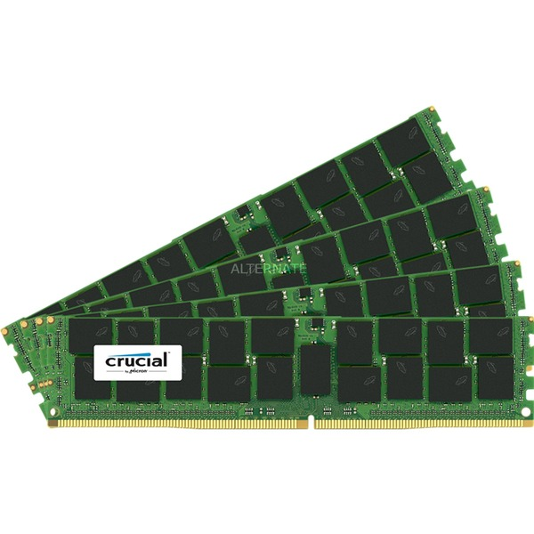 DDR4 16 Go (4 x 4 Go) 2133 MHz CL15 ECC Registered SR X8, Mémoire