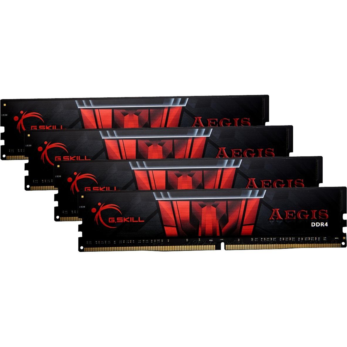 64 Go DDR4-2133 Kit, Mémoire