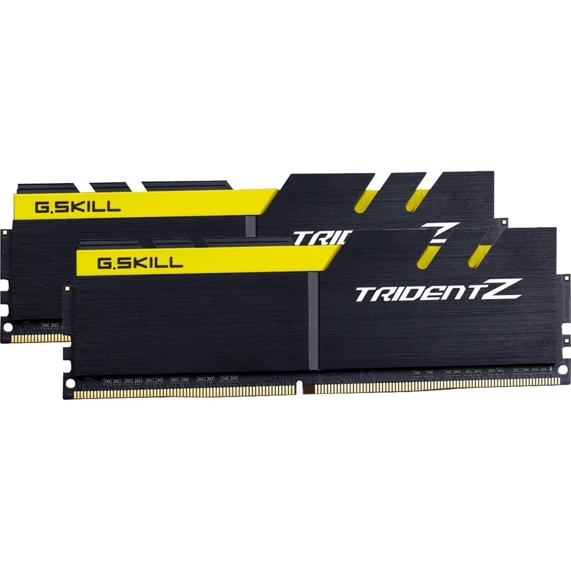 D416GB 3200-15 Trident Z K2 GSK, Mémoire