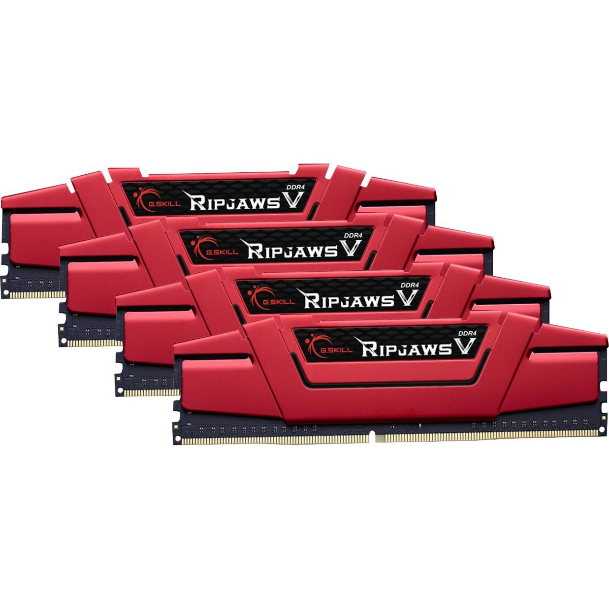 D432Go 3200-15 Ripjaws V Red K4 GSK, Mémoire