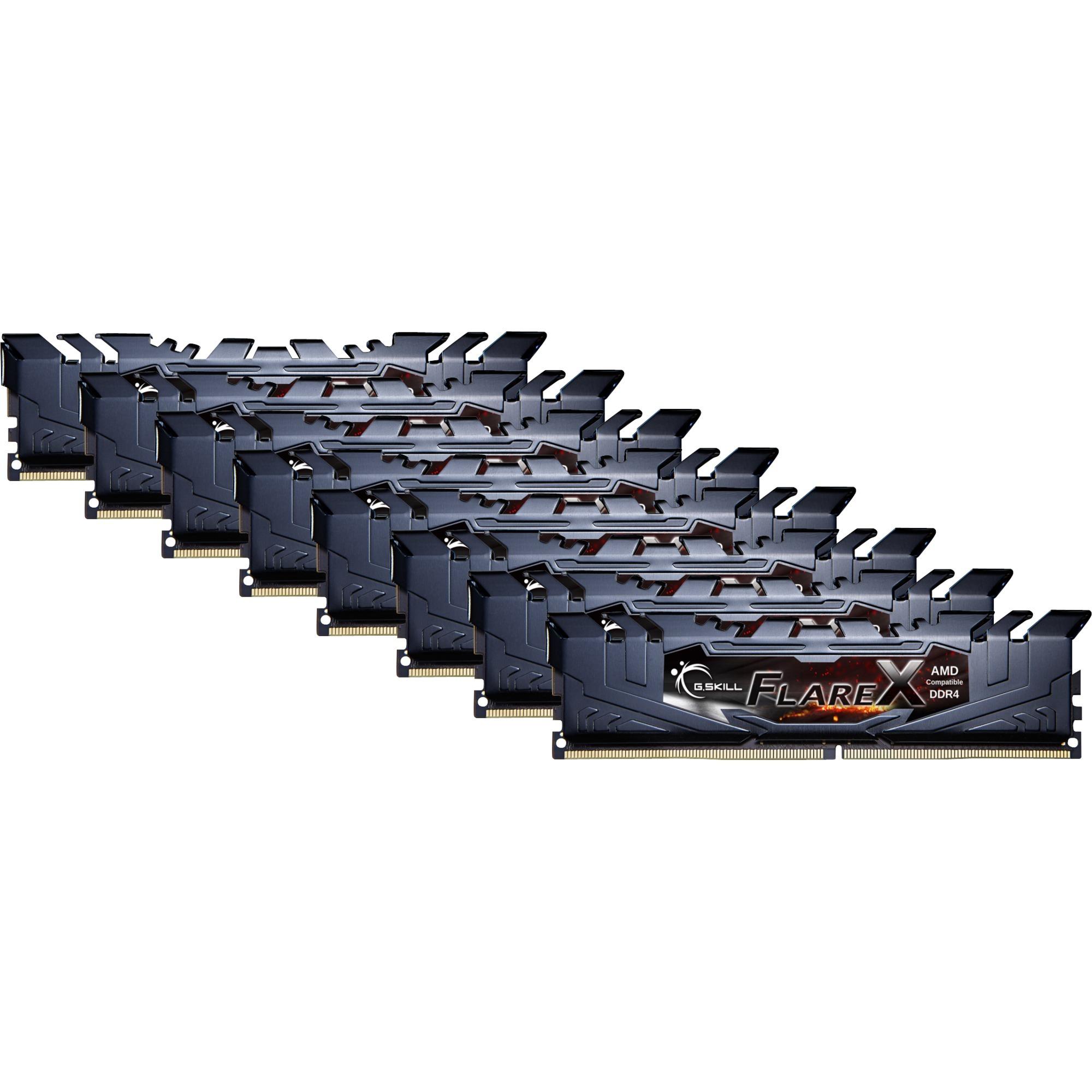 Flare X 64Go DDR4 2400MHz module de mémoire