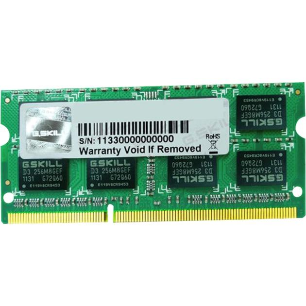 SO-DIMM 4 Go DDR3-1600, Mémoire